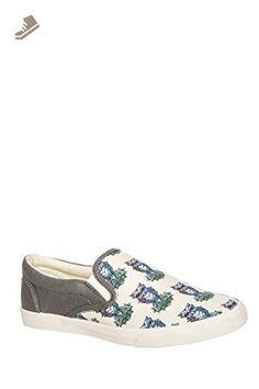 """Bucketfeet Women's """"Midnight Owl"""" Slip-On Fashion Sneakers - Bucketfeet sneakers for women (*Amazon Partner-Link)"""