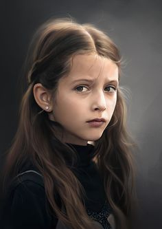 Innocence by Eric Zen | Portrait | 2D | CGSociety