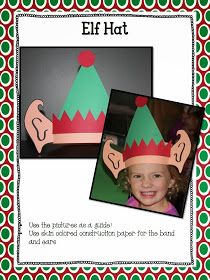 BME Elf Hat - Great for any Christmas story! Or Polar Express Day...
