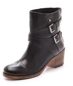 Sigerson Morrison Belle Ashlin Booties Chunky Heel Boot Size 6 $450 Shopbop #SigersonMorrison #FashionAnkle #Casual