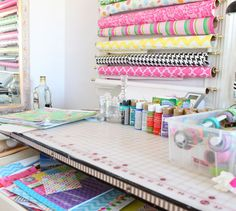 Make a Craft room for wrapping!