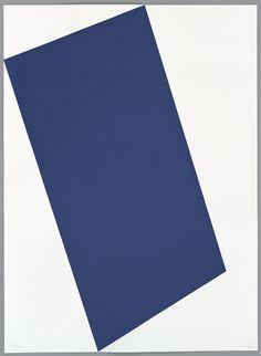 Blue (for Leo), from the Leo Castelli 90th Birthday portfolio