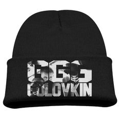 Funny Gennady Golovkin GGG Boxing Kids Skullies And Beanies Black. Surface Material: 85% Cotton. Knit Skullies. Stylish Outdoor Activities. 7.8 Inch Depth. Hand Wash.