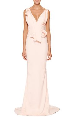 Marchesa Resort 2015 Trunkshow Look 4 on Moda Operandi