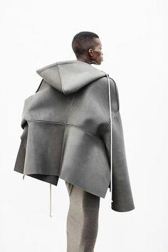Rick Owens Lilies, grey jacket, fashion