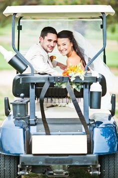Golf Themed Wedding Photo By Sara Joy Photography