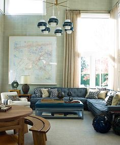 Heartfire At Home - Creating Interiors With Soul: Have You Gotta Thing For Maps And Globes? I Do!