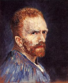 Van Gogh Self-portrait, 1887 - 08