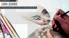 Pintura, ilustración y proceso en video de LORA ZOMBIE  Leer más: http://www.colectivobicicleta.com/2013/09/Pintura-de-LORA-ZOMBIE.html#ixzz2eQEXciX4