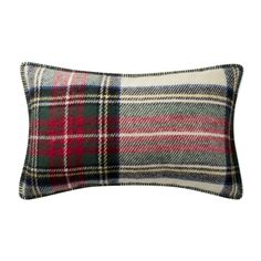 Italian Lambswool Lumbar Pillow, Stewart