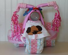 Custom Personalized Baby Girl Tricycle