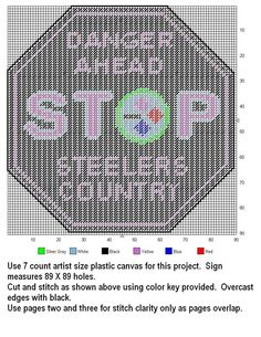 STEELERS COUNTRY STOP SIGN by DESIGNS BY @NDREA 2/2