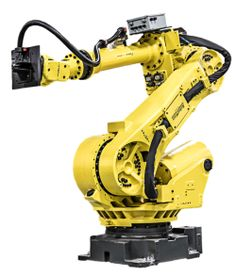 New and reconditioned FANUC robots are for sale at RobotWorx. An extremely versatile and popular robot used for multiple industry types. Industrial Robotic Arm, Industrial Robots, Wedding Photo Background, Photo Backgrounds, Robotics, Tactical Gear, Outdoor Power Equipment, Design, Iron