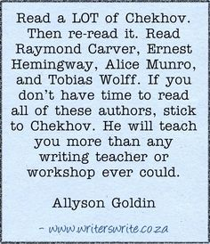 Quotable - Allyson Goldin - Writers Write Creative Blog