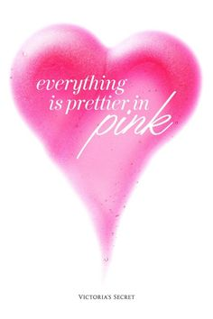 Everything is prettier in pink!!!