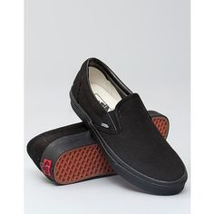 Vans - Black Slip On  Probably my most comfortable shoes.