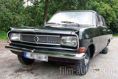 Opel Rekord B 1700, Bj. 1965, schwarz
