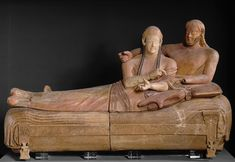 Sarcophagus of the Married Couple from The Bandataccia Necropolis, Cerveteri, 6th B.C.