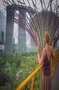 Gardens By The Bay is in Singapore, Singapore. Gardens by the Bay right behind the Marina Bay Sands -the famous hotel with an infinity pool on the top. Gardens By The Bay, Cheap Web Hosting, Singapore, Explore, Park, Modern, Nature, Parks, The Great Outdoors