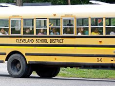 In this May 13, 2015, file photo, a group of Cleveland, Miss., public school students ride the bus on their way home following classes. According to a new report on child welfare, twelve percent of teens from Mississippi and Louisiana were neither in school nor working. A new report on child welfare that found more U.S. children living in poverty than before the Great Recession belies the fanfare of the nation's economic turnaround. (AP Photo/Rogelio V. Solis, File)