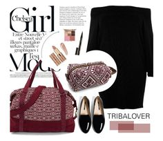 """""""Girls mood"""" by merima-kopic ❤ liked on Polyvore featuring River Island, Smith & Cult, tarte, NARS Cosmetics, Stila and tribalover"""