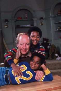 Conrad Bains (as Philip Drummond), Todd Bridges (as Willis Jackson) and Gary Coleman (as Arnold Jackson) ~ Diff'rent Strokes ~ Publicity Stills ~ Arnold Jackson, Todd Bridges, Diff'rent Strokes, My First Crush, Acting Career, Comedy Tv, American Actors, Picture Photo, Movies
