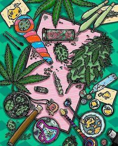 Daily things ☺ #cannalovers #cannabis #canna #welovecannabis #lovecanna