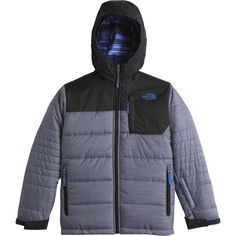 The North Face Caleb Insulated Jacket Boys' Cosmic Blue Heather M