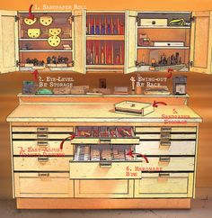 storag solut, shop storage, storage solutions, woodworking projects, garag, cabinet, workbench, diy, small woodworking shop