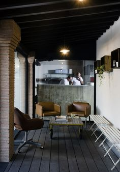 KOOK Osteria & Pizzeria by Noses Architects In Rome, Italy | http://www.yatzer.com/kook-noses-architects