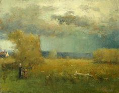 """George Inness """"After the Storm"""""""