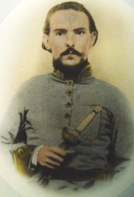 Colonel John L. Logan, Commander 11th/17th Consolidated Arkansas Infantry Regiment (Mounted)