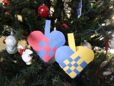 Norwegian Heart Baskets