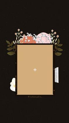 Flower Background Wallpaper, Flower Backgrounds, Creative Instagram Stories, Instagram Story Ideas, Sunflower Iphone Wallpaper, Polaroid Picture Frame, Birthday Post Instagram, Happy Birthday Posters, Instagram Frame Template