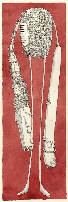 Mattias Adolfsson - this guy's illustration is simply brilliant.