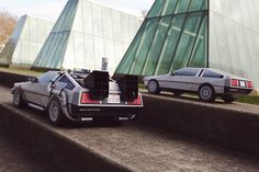 Get and build your own DeLorean paper model at http://visualspicer.com/store/delorean-back-to-the-future-inspired-papercraft/