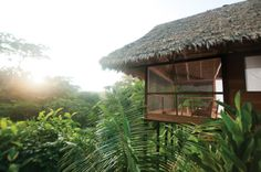 Five jungle hotels - Hacienda Concepcion, Peru (Condé Nast Traveller) Romantic Winter Getaways, Curtains Pictures, Amazon Rainforest, Logs, Luxury Travel, National Geographic, Adventure Travel, Places To Go, Interior
