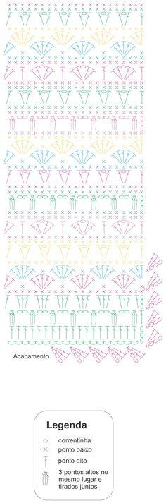 Crochet Diy, Scrap Yarn Crochet, Crochet Wool, Crochet Motifs, Crochet Flower Patterns, Crochet Stitches Patterns, Stitch Patterns, Crochet Scarves, Crochet Shawl Diagram