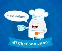 Siempre listo!! #ChefSanJuan la #HoradelChef #HuevoSanJuanMX #TENLACLARA.
