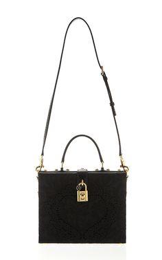 Intaglio Heart Dolce Bag by Dolce & Gabbana for Preorder on Moda Operandi