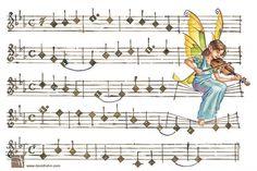 illustrations Music angelic
