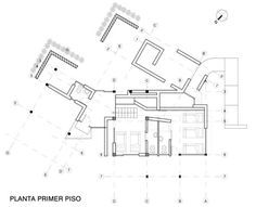 Plano casa de campo dos pisos House Plans, Floor Plans, How To Plan, San Diego, Villa, Loft, Houses, Deco, House 2