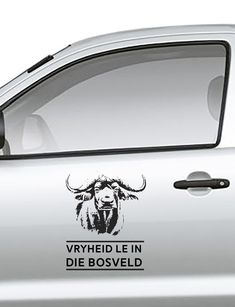 Vryheid le in die bosveld Vinyl Sticker Kruger National Park, National Parks, Wildlife Safari, Car Stickers, Chevrolet Logo, Stencils, African, Silhouette, Logos
