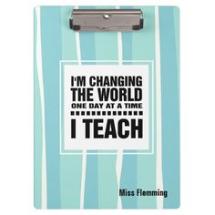 """Teaching Quote 