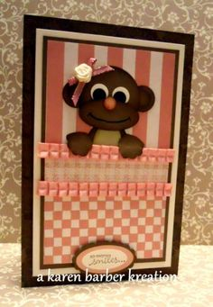 MONKEY BUSINESS by Karen B Barber - Cards and Paper Crafts at Splitcoaststampers