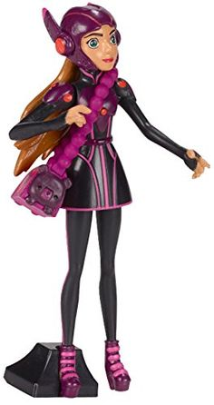 Big Hero 6 Stealth Honey Lemon Action Figure 4 *** Details can be found by clicking on the image. (This is an affiliate link) Disney Toys, Disney Movies, Disney Characters, Hero 6 Movie, Gogo Tomago, Big Hero 6 Baymax, Hiro Hamada, Evil Villains, Black Suits
