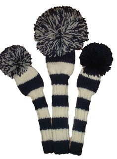 Chill Designs custom made hand knitted golf headcovers