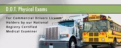 Call Rio Valley IMS at (956)566-8541 for affordable DOT physicals.  We are located at 801 E. Nolana Ave., Suite 17 in McAllen, TX.  Don't wait to be fined and lose your commercial driver license.