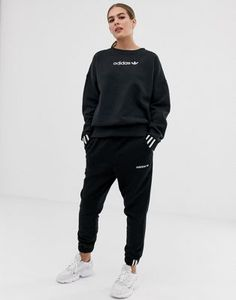 Buy adidas Originals Coeeze sweat pant in black at ASOS. Get the latest trends with ASOS now. Adidas Trackies, Adidas Sweatpants, Adidas Tracksuit, Adidas Jacket, Jogger Outfit, Sweatpants Outfit, Adidas Outfit, Adidas Logo, Adidas Originals