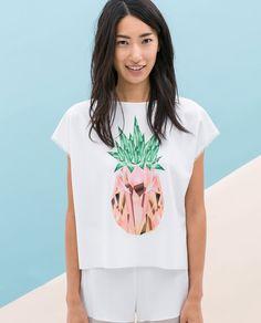 Imprimés - T - Shirts - Femme | ZARA France
